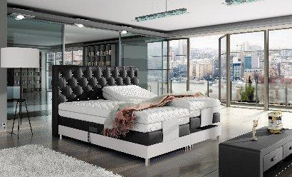 zagłówki wąskie KOŁO łóżka tapicerowane