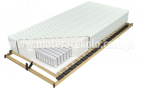 Multipocket Talalay X7 H4 - materac koło
