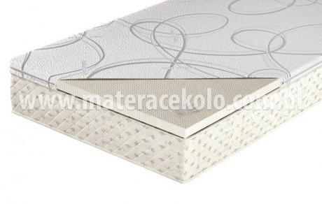 Materac nawierzchniowy Talalay naturalny lateks 4 cm memory
